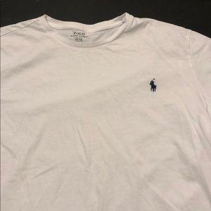 Men's White Polo T-Shirt